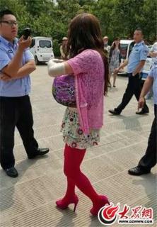 爆乳女装男中国で逮捕2
