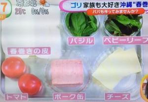 ゴリ流沖縄春巻きレシピ (1)