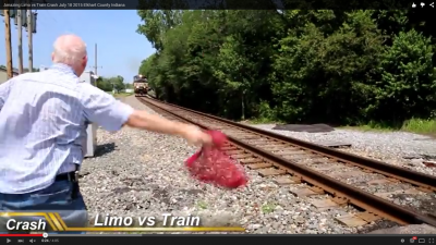 リムジンvs列車 (2)